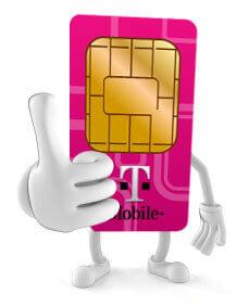 Sim only abonnementen bij T-Mobile