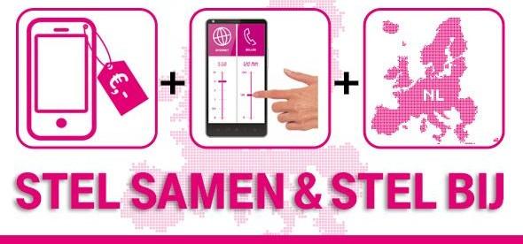 Stel samen en stel bij T-Mobile