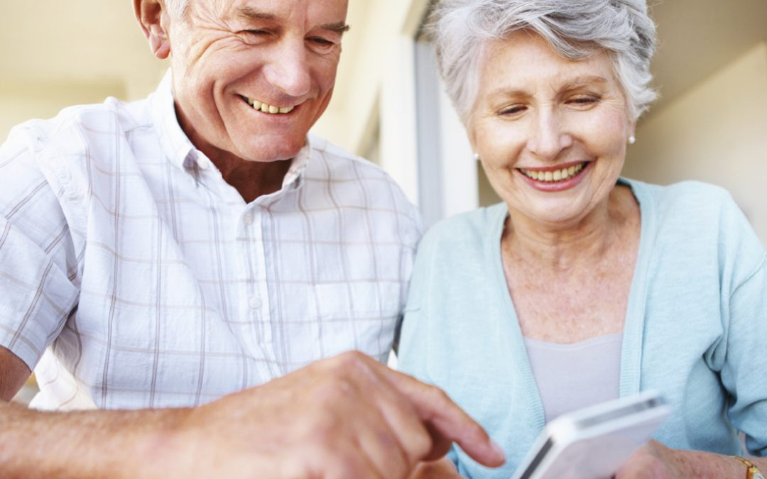 Aantal 50-plussers en ouderen met smartphone stijgt flink