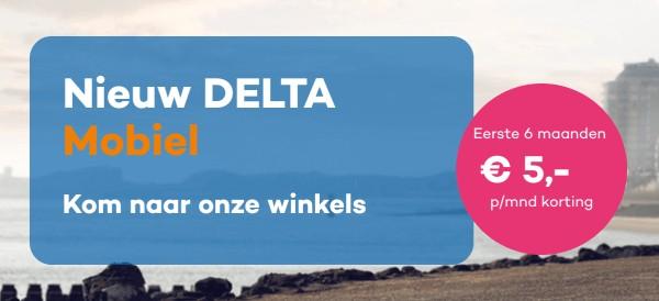 Korting bij Delta