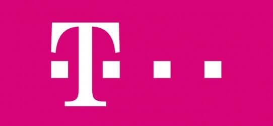 T-Mobile logo roze