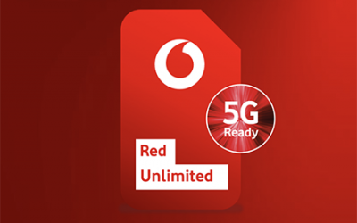 Vodafone introduceert Unlimited data en wijzigt Red-abonnementen